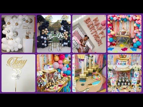 Latest birthday decoration ideas | Birthday decoration ideas at home | Party decorations |