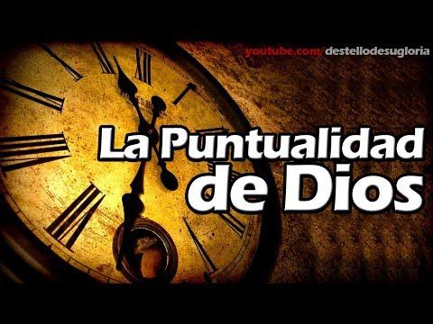 LA PUNTUALIDAD DE DIOS - REFLEXIÓN