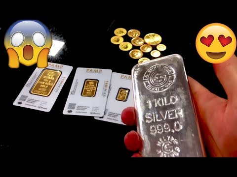 Buying over 32 Oz's of Gold & Silver in Dubai LCS!! WOW!