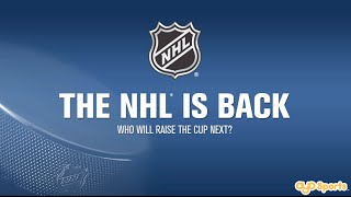 The NHL® is back! Who will raise the cup next?