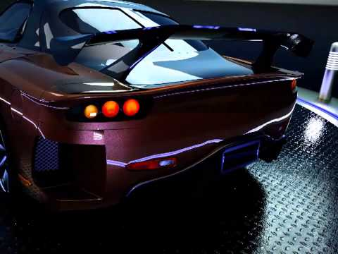Car animation using SimLab Composer 2014 SP1
