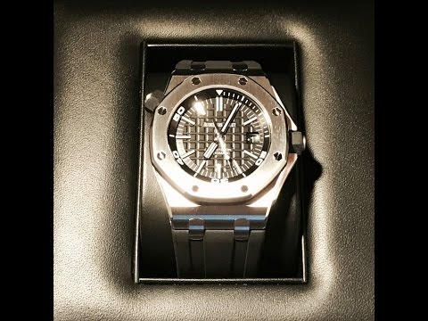 PAID WATCH REVIEWS - Audemars Piguet Offshore Diver