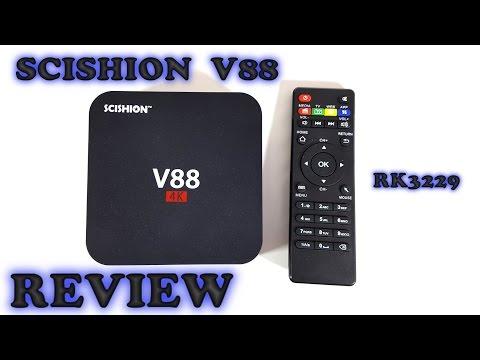 SCISHION V88 TV Box REVIEW