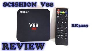 sCISHION V88  4K Android TV Box REVIEW 22.99