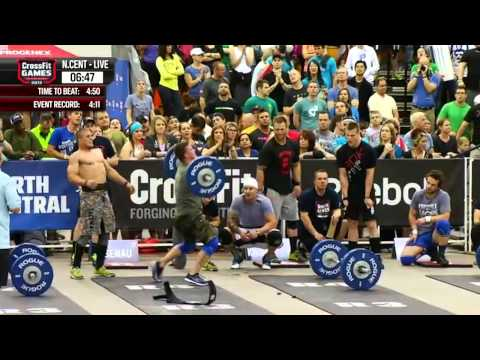 CrossFit - North Central Regional Live Footage: Men's Event 7