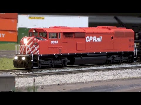 Layout Update – March 2014: Red barn built, chassis kits, painting a CN C44-9WL