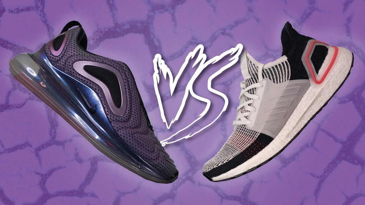 Nike Air Max 720 vs Adidas Ultra Boost 19 Comparison