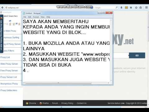 web proxy yang bisa download video