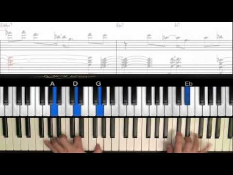 Solar - Jazz Piano  with MidiKeyz and Notation