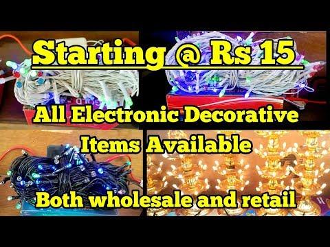 Cheapest LED market for DIWALI|| SADAR BAZAR