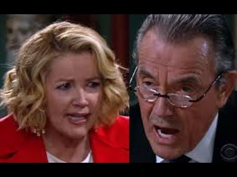 The young and the restless: 2/22/16  Victor pulls a gun ! review