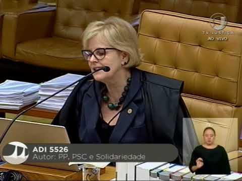 Pleno -  STF conclui julgamento de ADI sobre afastamento de parlamentares (3/3)