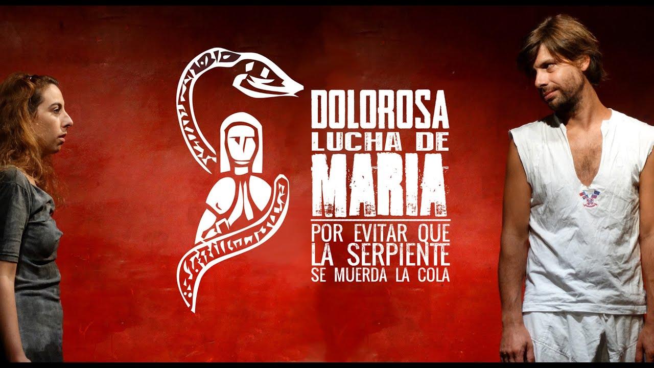 Resultado de imagen para Dolorosa lucha de María por evitar que la serpiente se muerda la cola