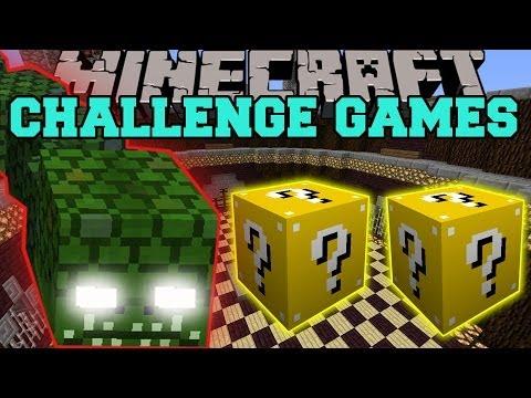 Minecraft: NAGA CHALLENGE GAMES - Lucky Block Mod - Modded Mini-Game