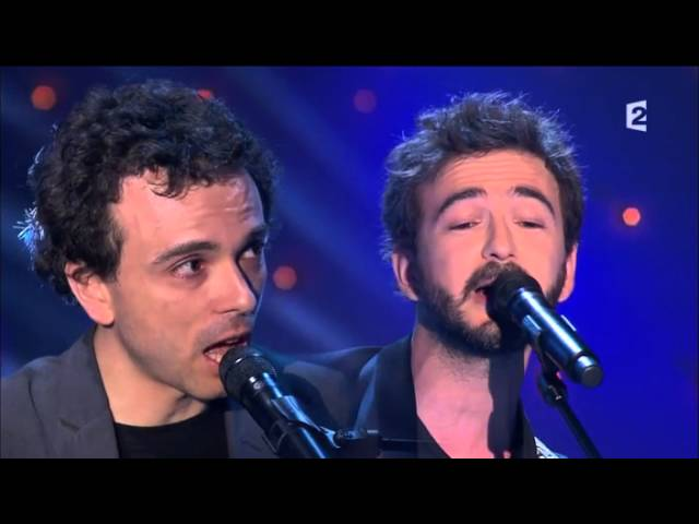 Damien et Renan Luce chez Michel Druker avec Isabelle Nanty