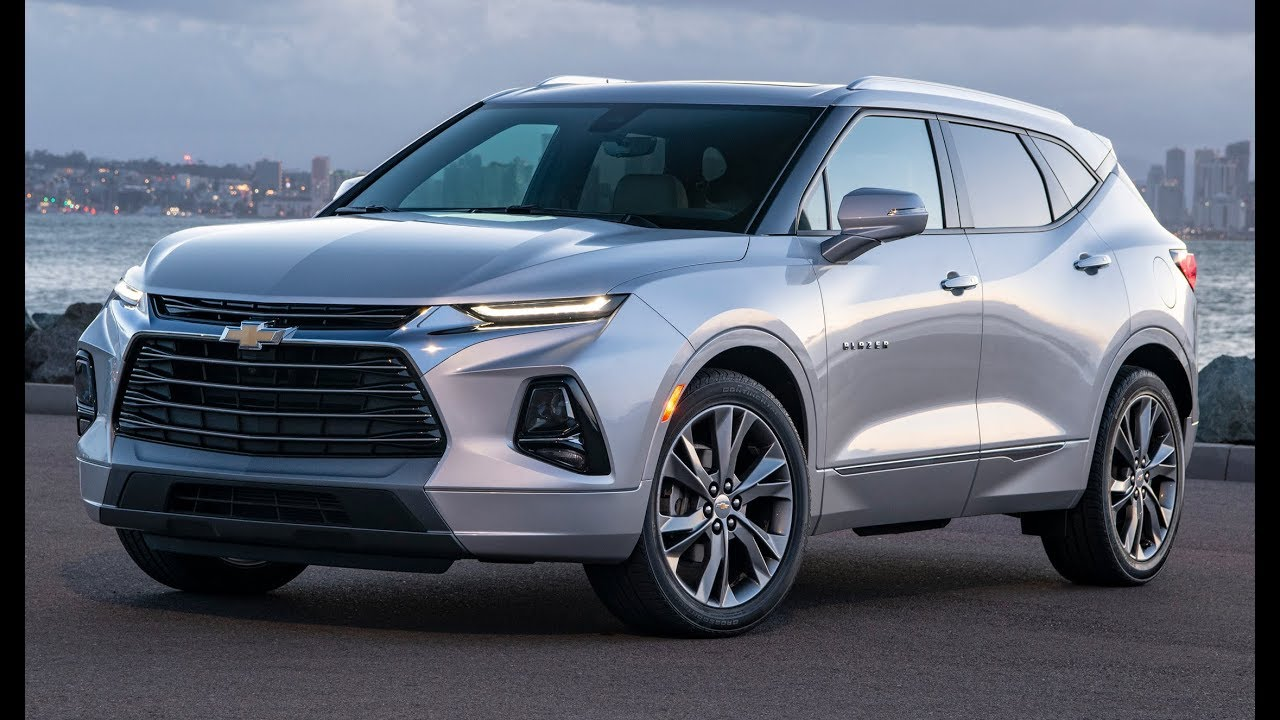 2019 Chevrolet Blazer Premier – Interior, Exterior and Drive - YouTube