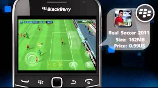 App of the Day - BlackBerry 'Real Soccer 2011'