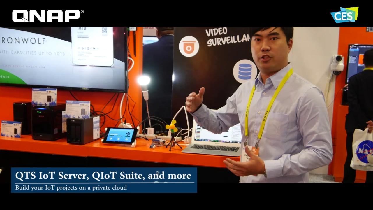 QNAP跨足IoT玩真的!物聯網年度盛事「IoT Tech Expo Glabal 2017