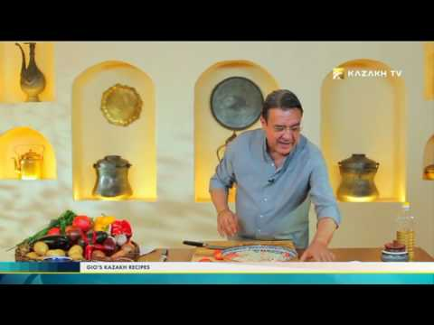 """Gio's Kazakh Recipes"" №8 (30.11.2016) - Kazakh TV"