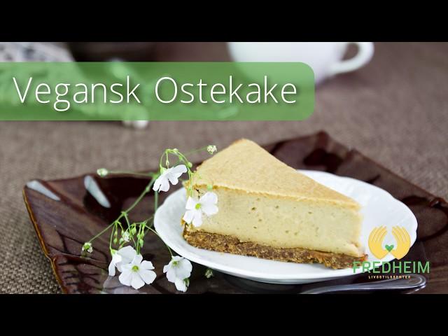 Vegansk Ostekake