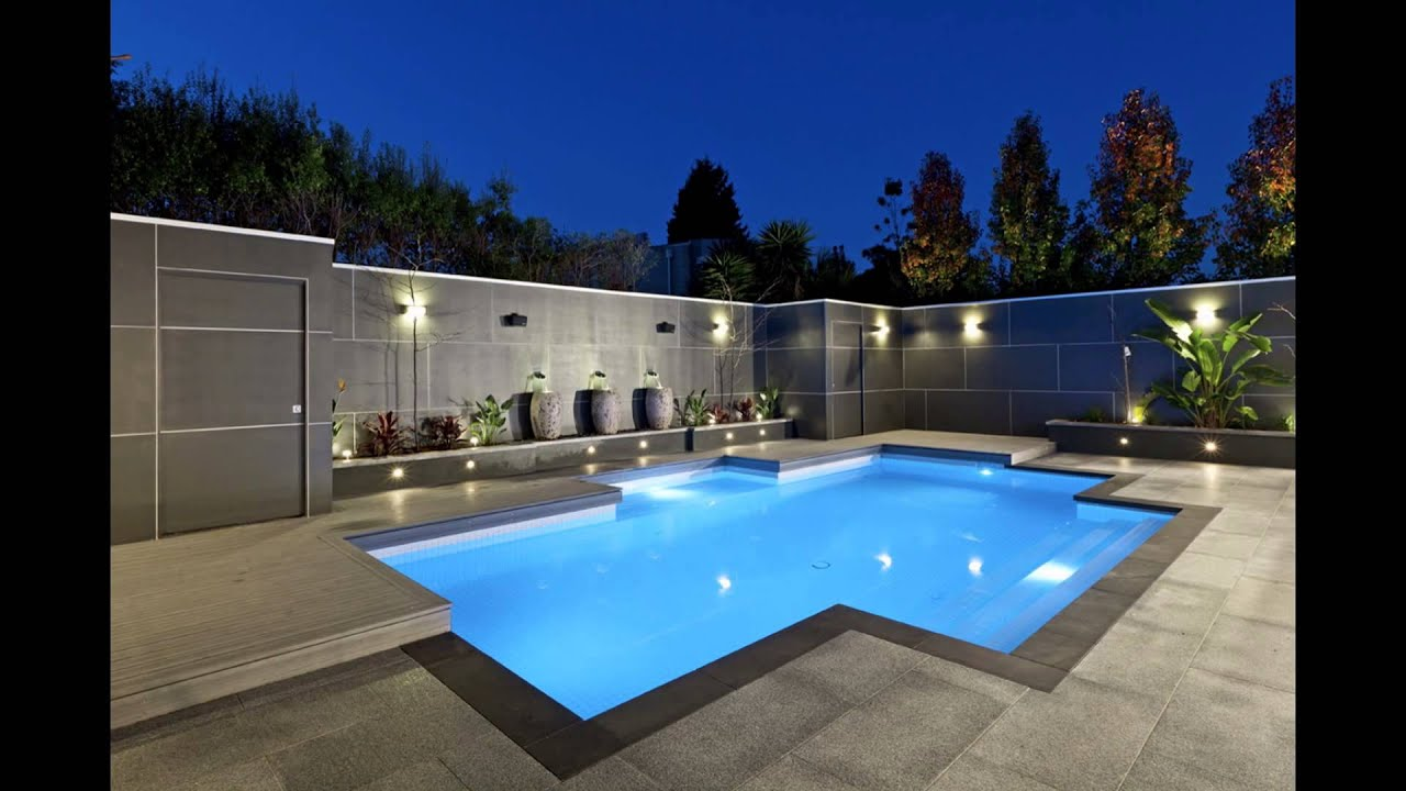 Backyard Pool Designs | Backyard Designs With Pool - YouTube