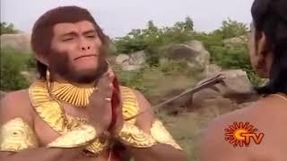 Ramayanam ----  last words of vaali in tamil..