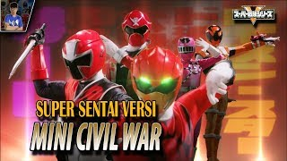 SUPER SENTAI STRONGEST BATTLE EPISODE 01 REVIEW - Mini Civil War di Super Sentai | #SuperRangers