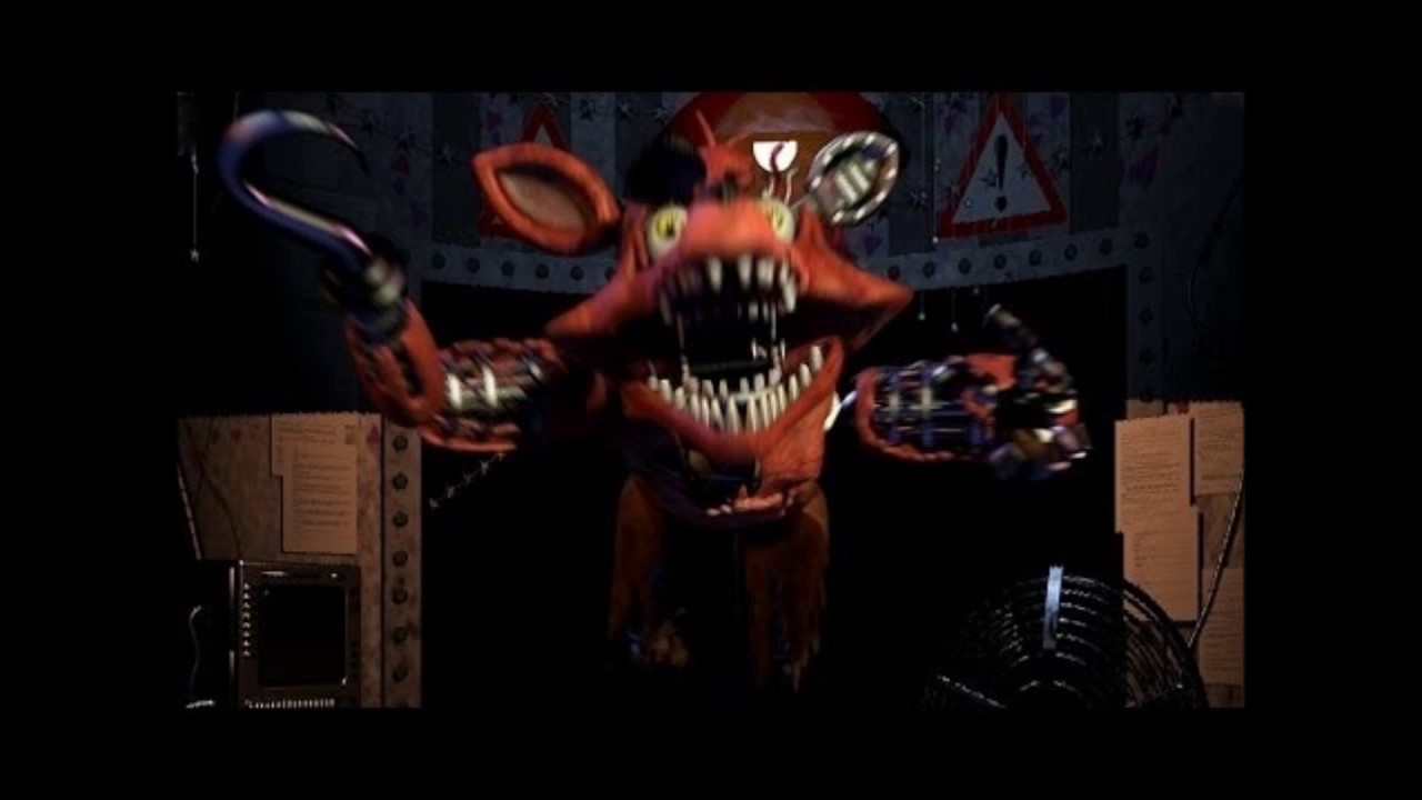 fnaf withered foxy jumpscare