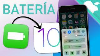 Consejos para AHORRAR BATERÍA en iOS 10
