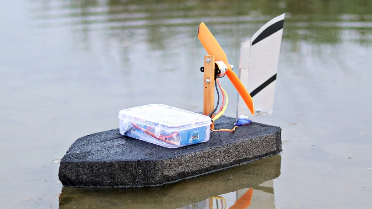 How To Make A Rc Air Boat Youtube