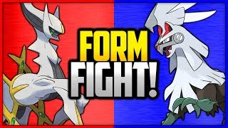 Arceus vs Silvally | Pokémon Form Fight