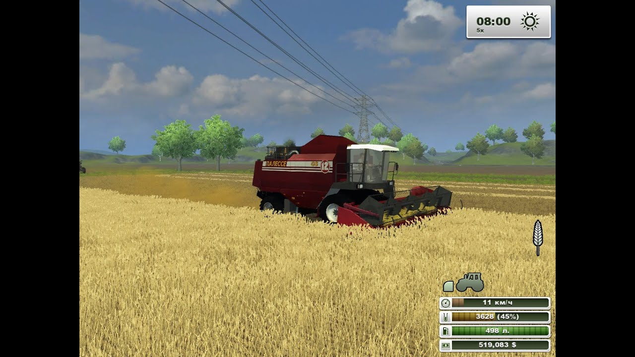 Скачать мод для farming simulator 2013 мод палессе