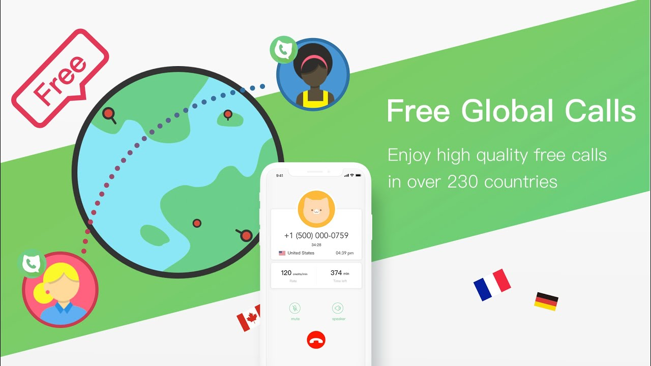 TouchCall - Completely FREE CALL Phone  by YOLO NET