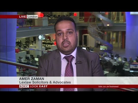 UK Immigration & Visa Lawyer Amer Zaman interviewed on BBC News 120718