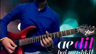 "What if Arijit Singh's ""Ae dil hai mushkil"" was made on Electric guitar!   Strings Play   AchintyaRS"