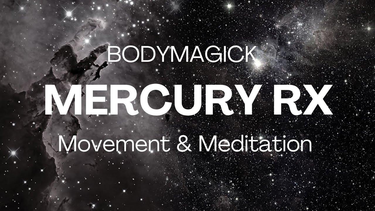 Mercury Retrograde October 2020 Free Online Class