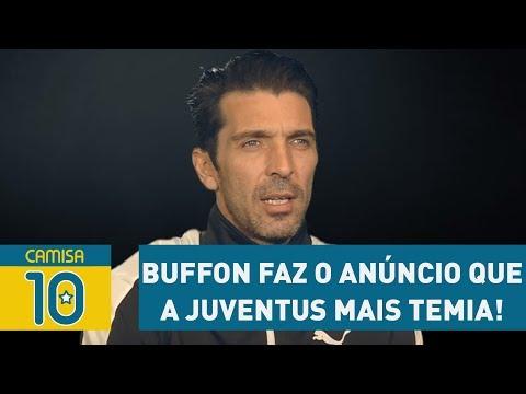 BUFFON Faz O Anúncio Que A JUVENTUS Mais TEMIA!