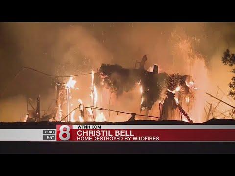 Turning point in fight against CA wildfires - Dauer: 34 Sekunden