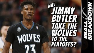 Can Jimmy Butler Get the Timberwolves to The Playoffs?
