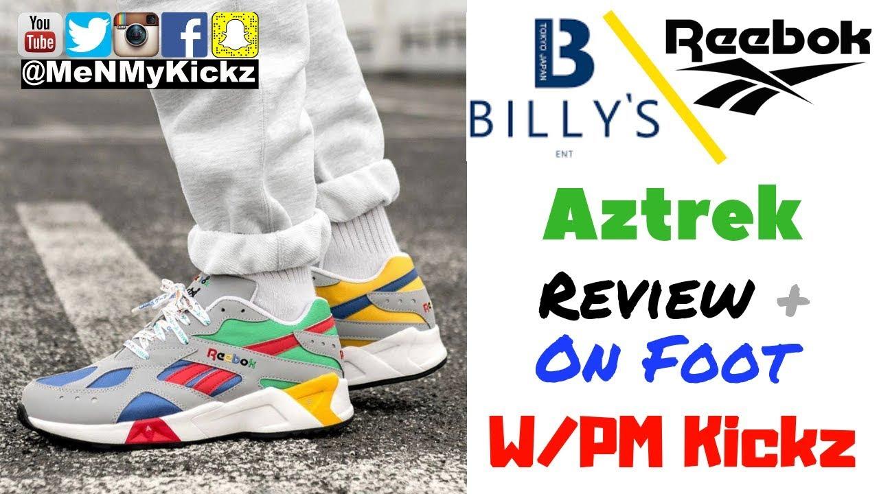 "aa01ee29130 Billy s Tokyo x Reebok Aztrek ""Nintendo 64"" Edition Review + On Foot ..."