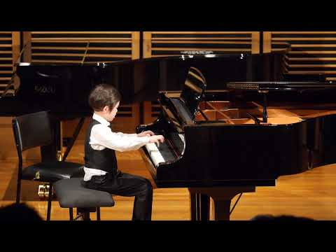 Isaiah (6yo) plays Sonatina in G Major