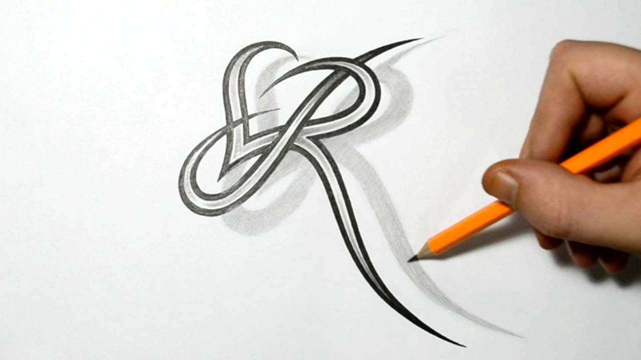 The Gallery For R Love Alphabet Wallpapers: Letter R And Heart Combined