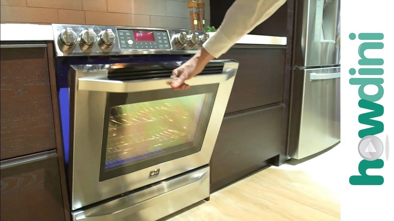 Smart Home Kitchen Appliances: LG Refrigerators & Ranges - YouTube