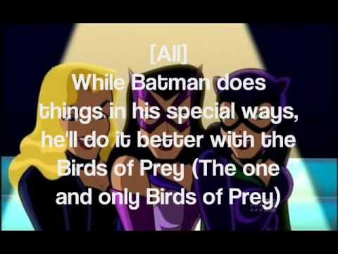 Birds of Prey (Lyrics)