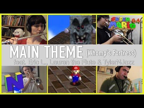Super Mario 64: Main Theme (Whomp's Fortress) - Jazz Cover    Charles Ritz