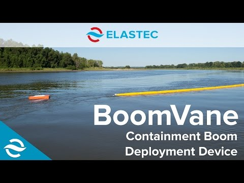 ELASTEC | BoomVane - Oil Containment Boom Deployment Device