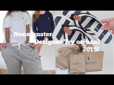 Neumünster try on haul!//feat. Lillebror
