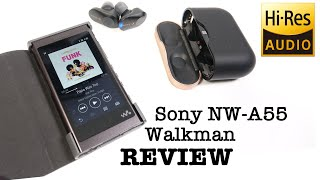 Sony NW-A55 Digital Walkman REVIEW