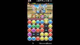 Puzzle and Dragons | Challenge Dungeons 9 Level 8 | Kirin