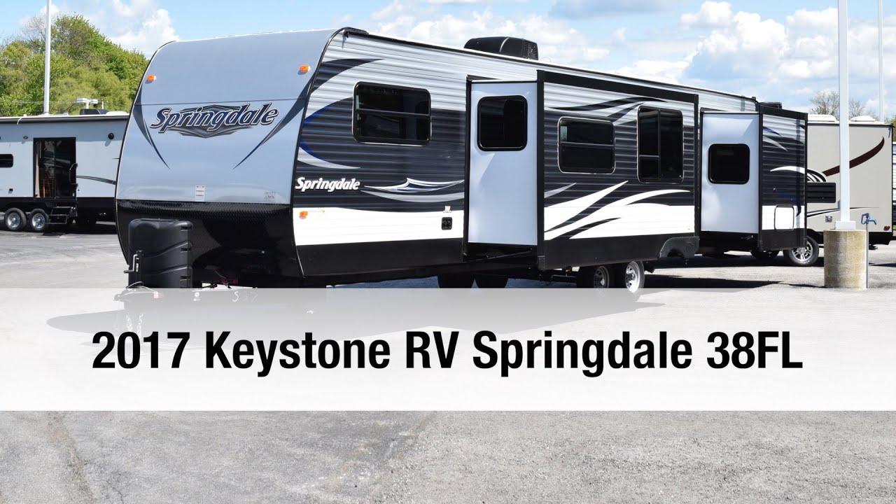 2017 Keystone Rv Springdale 38fl Travel Trailer